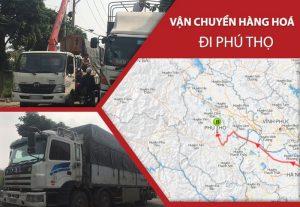 Dịch vụ vận chuyển hàng hoá đi Phú Thọ