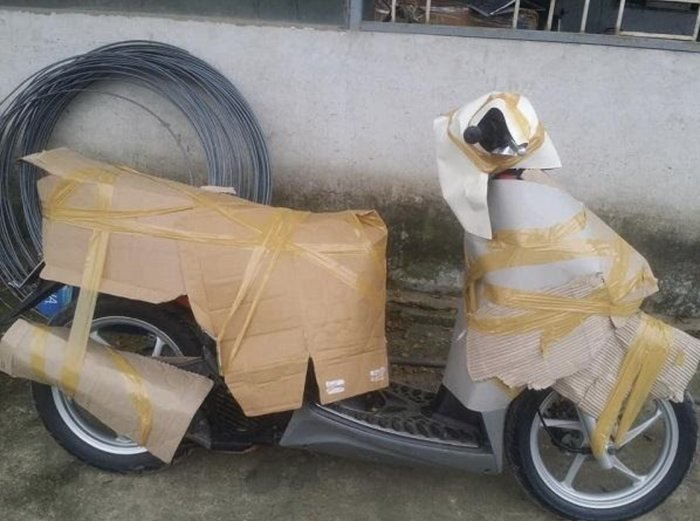 Quy trình vận chuyển xe máy từ HN đi ĐN tại Công Ty Vận Tải Bắc Nam
